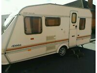 1994 5 berth elddis with full anwing