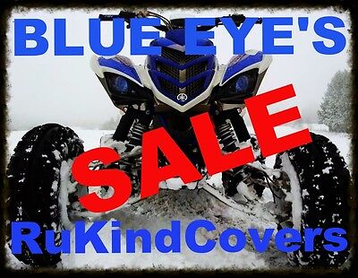 NEW BLUE EYE HEAD LIGHT HEADLIGHT COVERS 450 YFZ RAPTOR 250 350 700 SALE!!!!!!