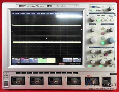 Lecroy 204xi Waverunner 204xi 2ghz 10gss Digital Oscilloscope