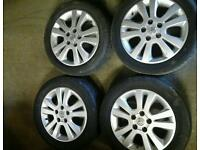 Vauxhall 5 stud 16 inch alloy wheels