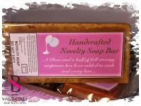 Chocolate soap bar