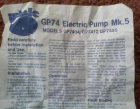 GP74 Electric pump MK 5