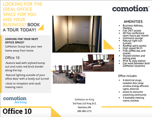 CoMotion | Office 10 | CoWorking