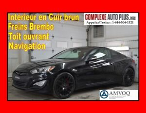 2016 Hyundai Genesis Coupe Coupe GT 3.8L V6 *Super look! GPS,Cui