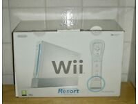 Boxed Nintendo Wii Sports Console + Motion Plus + Sports Resort