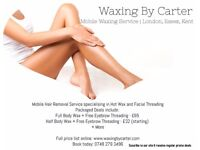 Mobile Waxing Hair Removal