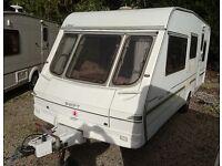 1998 Swift Classic Alouette - 5 berth caravan - fixed bed