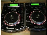 CDJ DECKS NUMARK NDX200