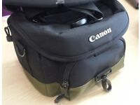 NEW CANON CAMERA BAG ABOUT 9 INCHES LENGTH 25