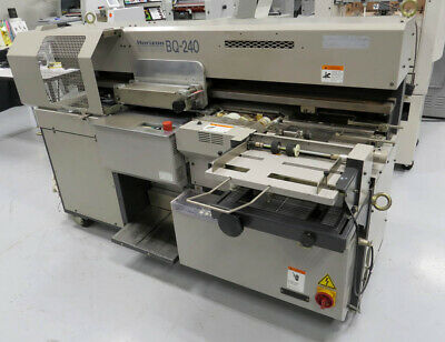 Horizon Bq-240 Perfect Binder - Standard Bq-260 270 270v Duplo Morgana