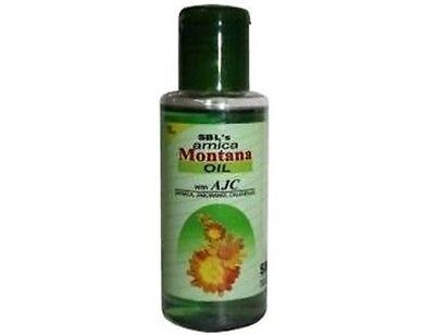 - SBL Arnica Montana Homeopathy Hair Oil Strengthens Hair Reduces Hair Fall 100ml