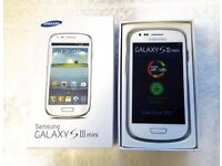 Samsung Galaxy S3 Mini unlocked any network ***good condition***100% original phone***07587588484***