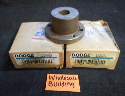 "DODGE, BUSHING, 122050, H X 5/8 KW, 5/8"" BORE, LOT OF 2"