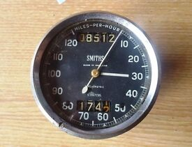 Smiths Chronometric 120 MPH speedo BSA Triumph Norton AJS Matchless Velocette