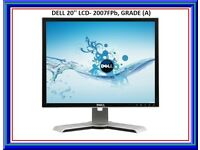 """Cheap Dell 20"""" lcd 2007FPb TFT LCD Monitor (A Grade) condition"""