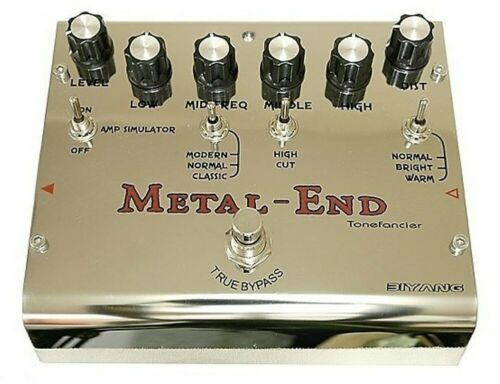 Biyang METAL END PRO Distortion Extremely versatile- numerous set options.