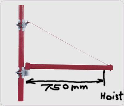 New Pro Electric Motor Winch Hoist Crane Rotary Hoist Frame 2200