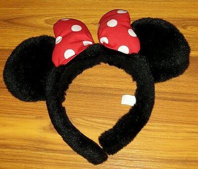 Minnie Mouse Ears Headband Disney Original