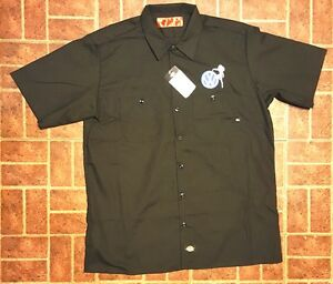 New custom dickies black embroidered vw volkswagen sexy for Embroidered dickies work shirts