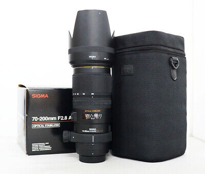 # Sigma DG 70-200mm f/2.8 APO HSM DG EX OS IF Lens For Nikon S/N 4674