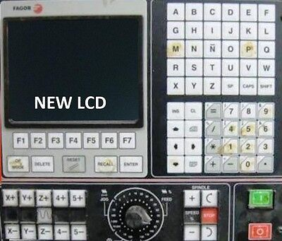 LCD monitor upgrade for 14-inch Fagor 8030 with Cable Kit for sale  Shipping to India