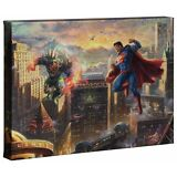 Thomas Kinkade Superman Man of Steel 10 x 14 Gallery Wrap Canvas DC Art