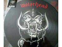Vinyl motorhead picture disc