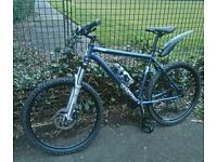 VOODOO MOUNTAIN BIKE IN V G.C, COMES WITH SHIMANO HYDRAULIC DISC BRAKES, £180