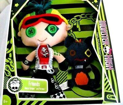 Monster High Doll Deuce Gorgon Perseus Plush Stuffed Doll Friends Toy Soft Boy