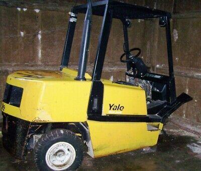 Yale 8000 Lb Forklift Diesel Year 2000 Pneumatic Tires 2000 Model