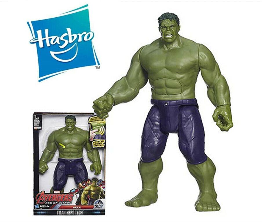 """THE HULK Marvel Avengers 11/"""" Action Figure Toy Titan Hasbro"""