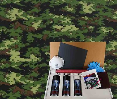Hydrographics Dip Kit Activator Water Transfer Printing Green Digital Camouflage