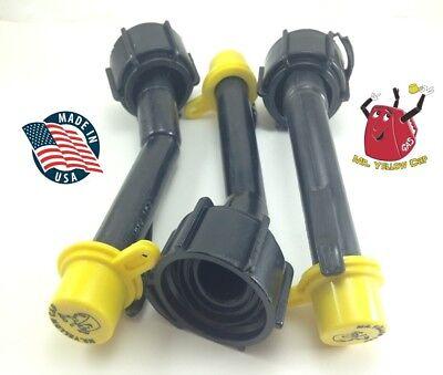3 - Blitz Gas Can Nozzle Spouts Rings Caps Replacement Vintage 900092 900302 New