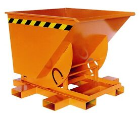 750L Fork Mounted Tipping Skip - Brand New