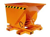 Brand New Tipping Skip 500Ltr - Construction Bucket Attachment
