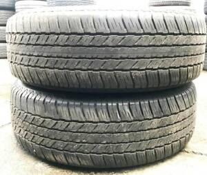 245 65 R17 Bridgestone H/T 684ii Used Tyre VW Amarok Kluger Triton Vermont Whitehorse Area Preview
