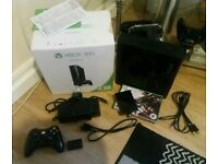 Xbox 360 go 250gb Console Boxed Inc Extras!!