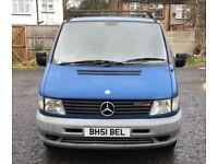 2002 Mercedes-Benz Vito 2.2 110 CDI Panel Van Automatic @07445775115 Auto+Diesel+No Vat+Warranty