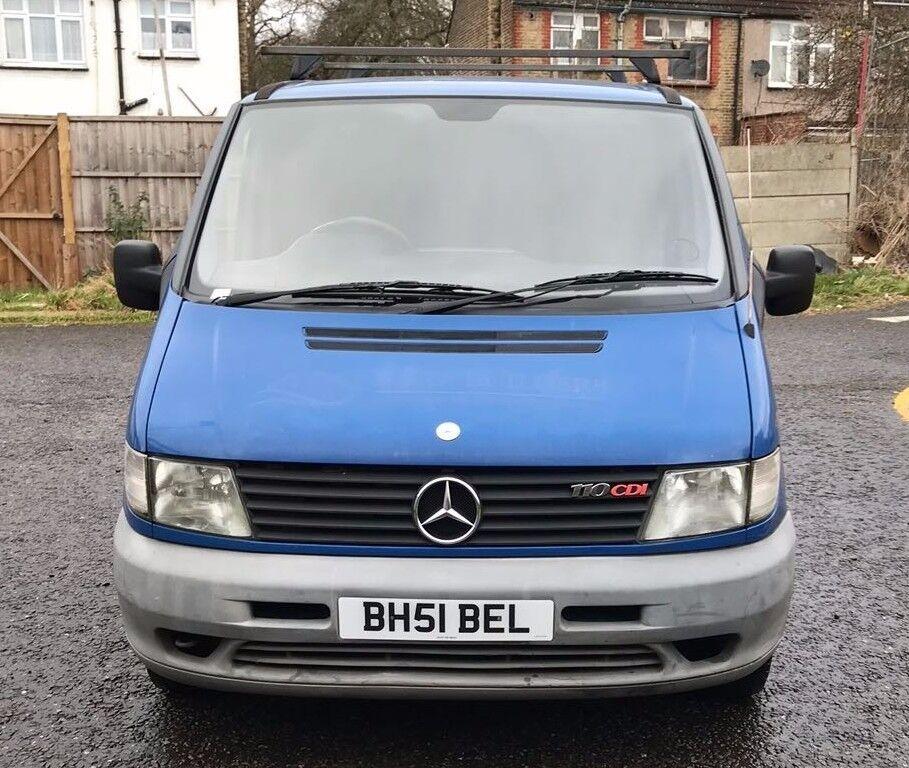 2002 Mercedes-Benz Vito 2.2 110CDI Panel Van Automatic ...