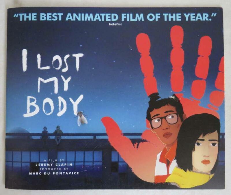 2020 Netflix I LOST MY BODY FYC Promo Color Press Book Animation RARE