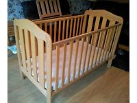 Mama's and Papas cot bed