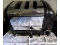 DUALIT COMBI toaster 2 + 1 & Sandwich Cage Chrome LONDON