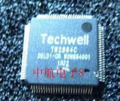 Techwell Tw2864c Qfp