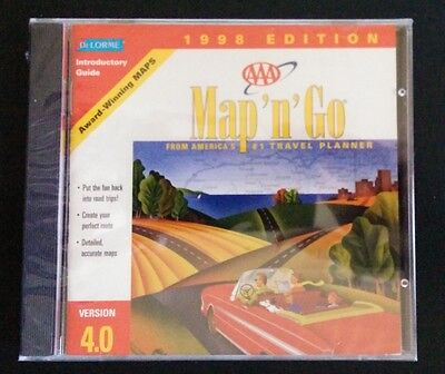 - DELORME MAP N GO 1998 EDITION VER. 4.0