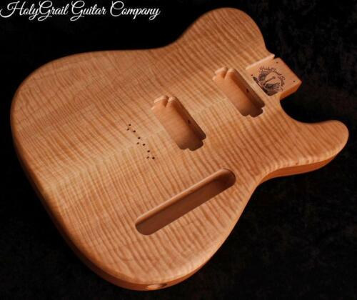 HH Telecaster Body ~ Flame Maple ~ Alder ~ Tele Guitar Body / Pre-Order