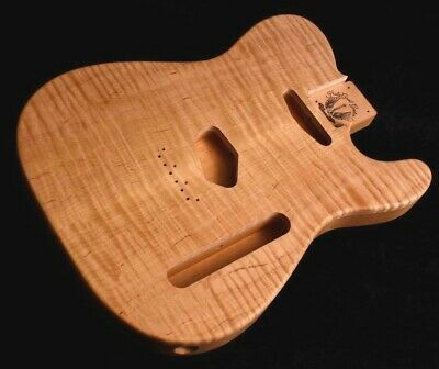 Telecaster Body • Flame Maple • Alder • / Tele Guitar Body / Pre-Order