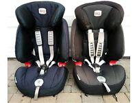 Britax evolva 123 car seat - 2 available
