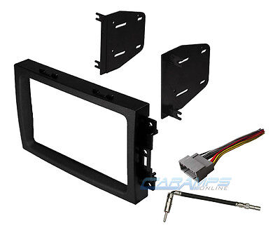 CAR TRUCK STEREO RADIO DASH INSTALLATION TRIM BEZEL KIT WITH WIRING (Truck Dash Kits)