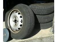 Vauxhall combo wheels & tyres