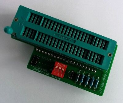27C400 27C800 27C160  27C322 16 Bit EPROM Adapter For TL866 Programmer for sale  Shipping to Canada